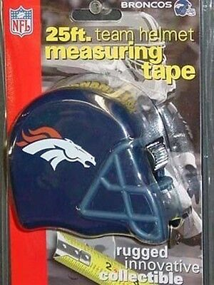 NFL Denver Broncos 25 Foot Tape Measure, NEW