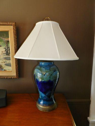 Moorcroft lamp ebay aloadofball Choice Image