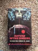 Return of The Living Dead VHS
