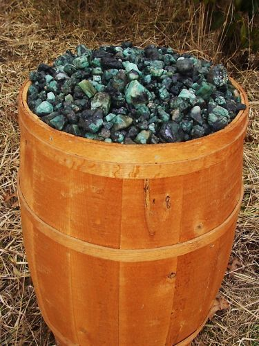 500 Carat Lots of Unsearched Natural Emerald Rough + a FREE faceted gemstone