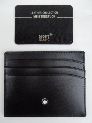 My Credit Score >> Mont Blanc Card Holder | eBay
