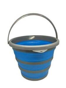 10 litre  Collapsible Pop-up Bucket Silicone caravan camping Para Hills West Salisbury Area Preview