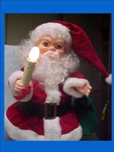 Vintage santa claus light ebay