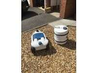 Caravan Water Hog & Waste Hog containers