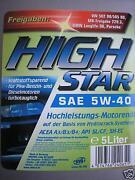 High Star 5W40