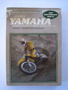yamaha enduro+mx 1968-1978