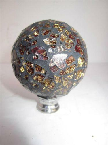 Glass Ball Finial Ebay