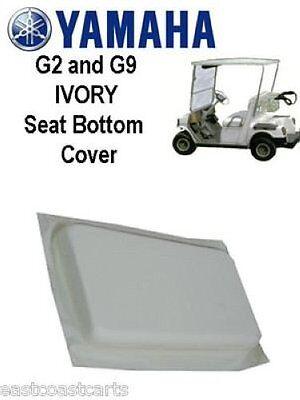 Yamaha G2 G9 Golf Cart Ivory Seat Bottom Cover Jg5 K8404