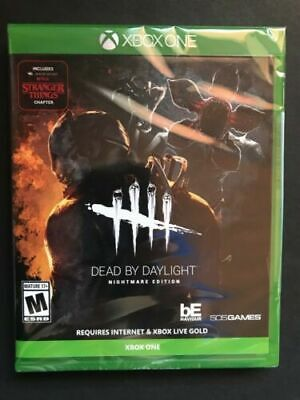 Xbox One Dead By Daylight Nightmare Edition Brand New Sealed