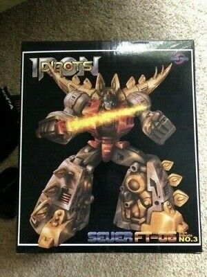 FansToys Dibots FT-06 Sever w Alt Head Transformers MP Dinobots Snarl US Seller