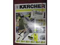 NEW: KARCHER Window & Conservatory Cleaning Kit Accessory For KARCHER