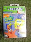 LeapFrog SpongeBob SquarePants Leapster 2 Electronic Learning Game Cartridges & Books