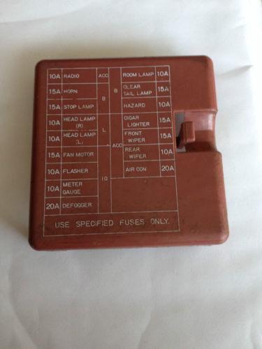 Datsun Fuse Box Parts amp Accessories eBay