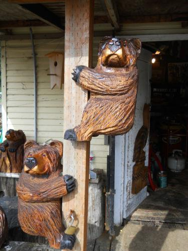 Chainsaw bear sculpture carvings ebay