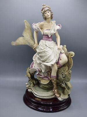Giuseppe Armani Mystical Fountain 159C Limited Edition Porcelian Figurine Italy