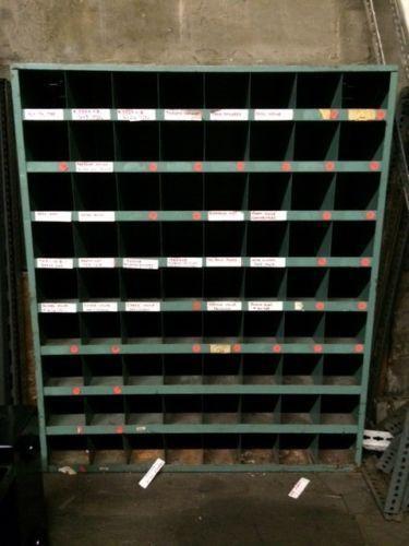 Used Metal Storage Cabinet >> Metal Parts Bin | eBay