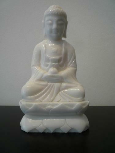 buddha figur wei ebay. Black Bedroom Furniture Sets. Home Design Ideas