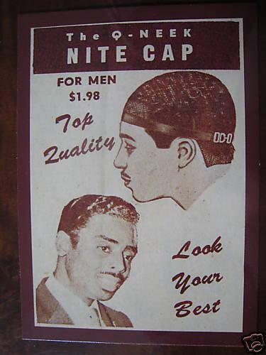 1961 Black Doo Rag Brooklyn New York City Black Post Card African-American