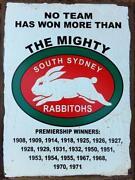 South Sydney Memorabilia