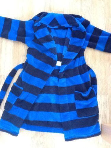 Boys Fleece Dressing Gown   eBay