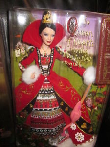 *NEW* 2007 Barbie as The Queen of Hearts by Mattel