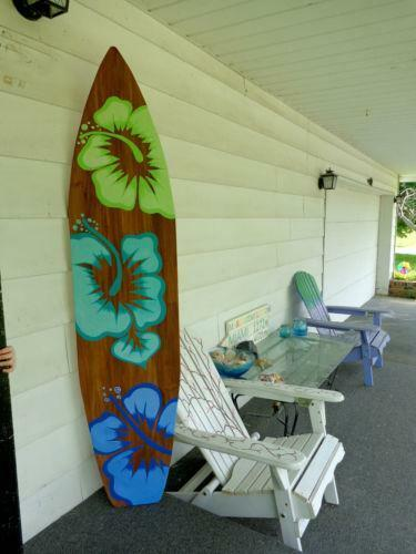 Surfboard wall decor ebay for Surf decoration