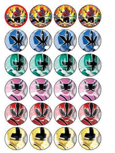 Power Rangers Cake Toppers Uk