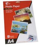 A4 Inkjet Gloss Photo Paper