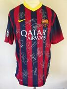 Barcelona Signed Shirt