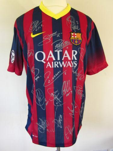 394b81910a9 Barcelona Signed Shirt | eBay