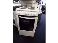 Electric Cooker 50CM White Free Standing