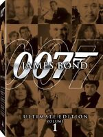 James Bond Ultimate Edition Vol. One (DVD, 10-Disc) - NEW