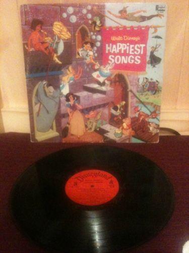 Walt Disney Record Albums Ebay