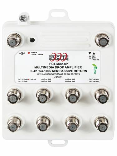 MINT! PCT PCT-MA2-8P Multimedia Drop Amplifier