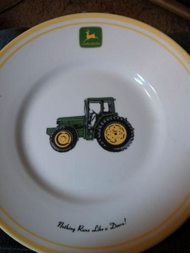 John Deere Ledger Plates : Gibson john deere plate ebay