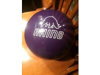 bowling ball brunswick (rhino)