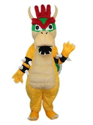 Dinasaur Mascots Costume Dargon Cartoon Mascot Costume Suit For Hallooween Dress](Dinasaur Costume)