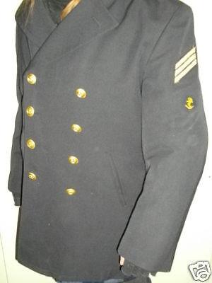 Kostüm Kapitän Bundeswehr  Bw  Sakko Colani  Gr. 166/88  mit Abzeichen