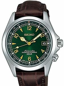 SEIKO SARB017 Leather MECHANICAL Alpinist Automatic Mens Watch TAX FREE