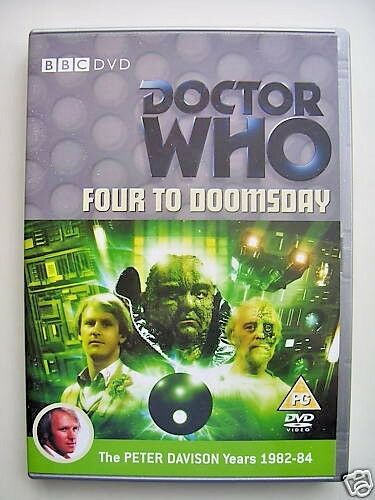 Doctor Who - Four To Doomsday (DVD, 2008) - Peter Davidson
