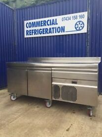 Caravell 2 Draw Stainless Steele Display Fridge under counter