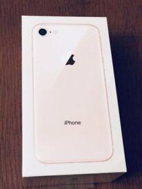 Apple iPhone 8 64GB Gold, Unlocked - Mint Condition