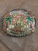 Barrel Racing Belt Buckles