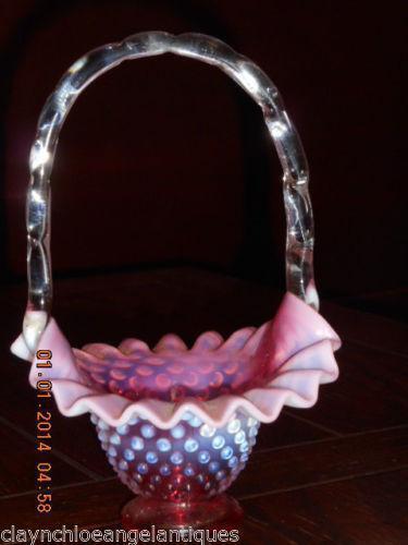Fenton Brides Basket Ebay