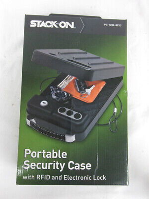 Stack-On Portable Security Safe Gun Case w/ RFID & Electronic Lock PC-1702-RFID