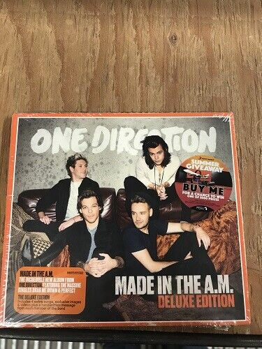 One Direction Made In The A.M. Australian Edition  Softpack- Box Set Audio CD