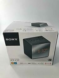 Sony ICFC1T Alarm Clock Radio BLACK/WHITE COLORS