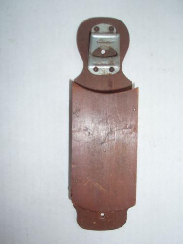 Vintage Wood Bottle Opener Ebay