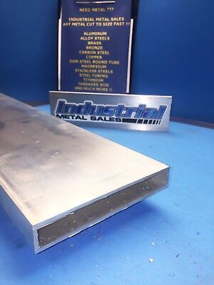 1 X 6 X 24-long X 18 Wall 6063 T52 Aluminum Rectangle Tube--1 X 6 X .125