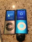 iPod Nano 4th Generation 8GB Blue